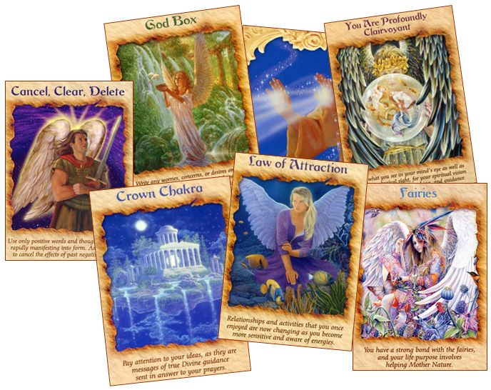 intuitive oracle card reading